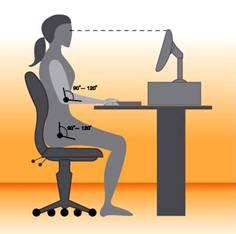 Cómo sentarse de manera sana.