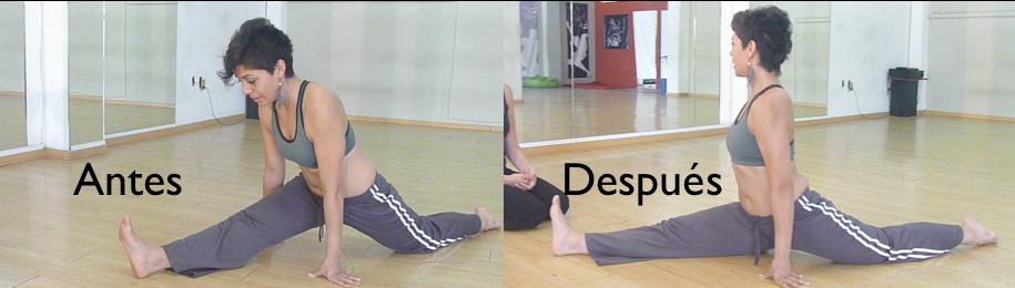 Cómo liberar las caderas (cómo hacer el split)