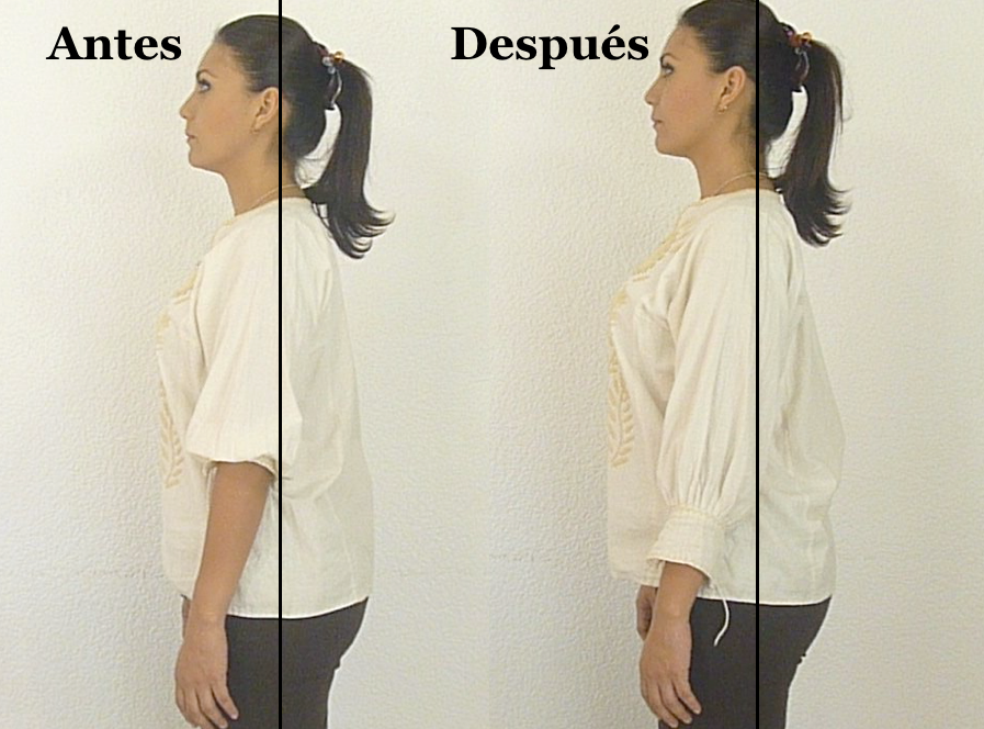 Cómo enderezar la espalda acomodando los omóplatos