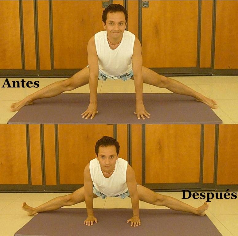 Cómo abrir las caderas (cómo hacer el spagat)