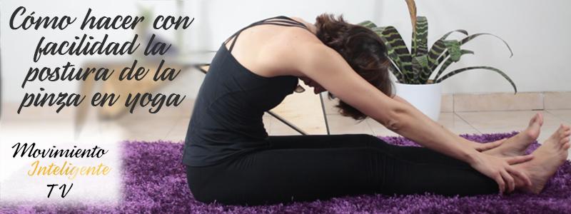 Cómo mejorar la postura de pinza de yoga