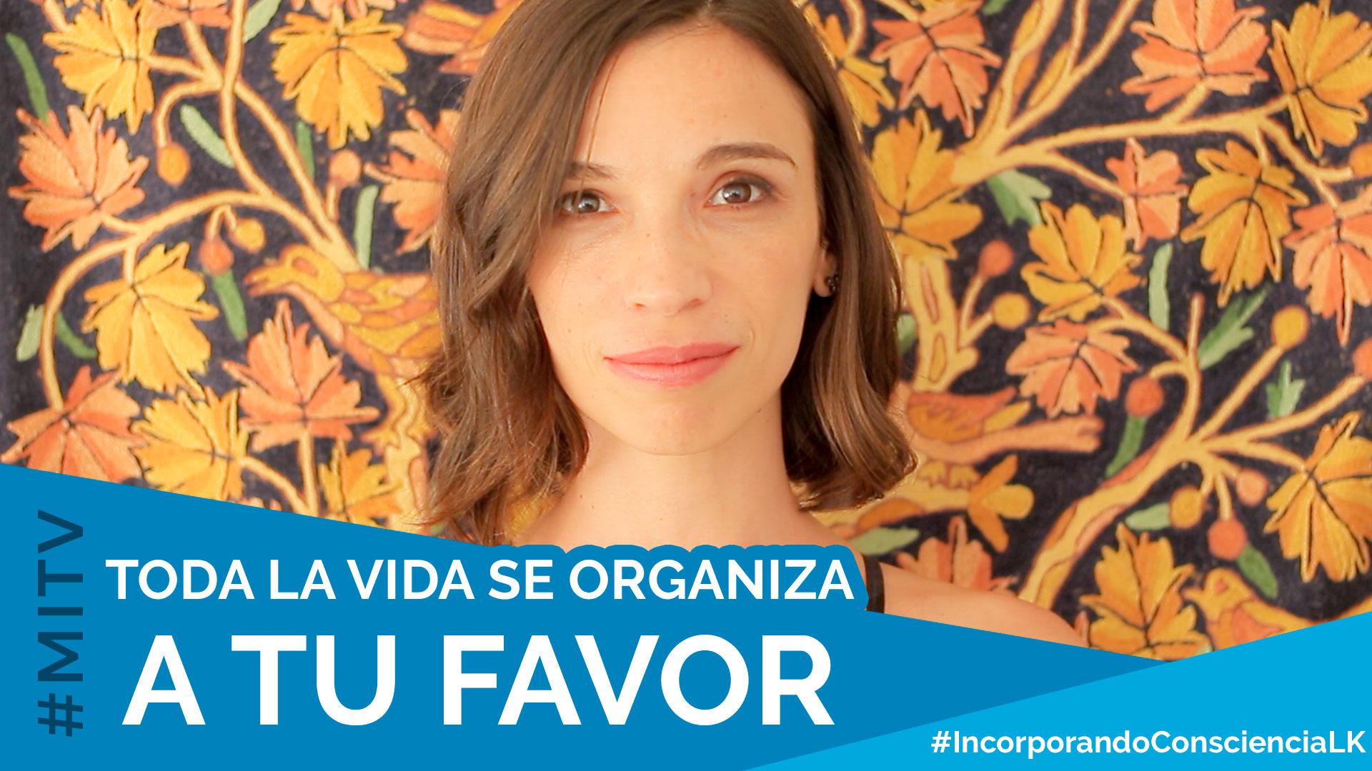 Toda la vida se organiza a tu favor – #IncorporandoConscienciaLK